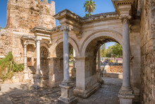 Hadrians Gate In The Old City Of Antalya
