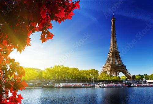 Billede på lærred eiffel tower paris city france