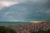 Fototapeta Rainbow - Tęcza we Włoszech