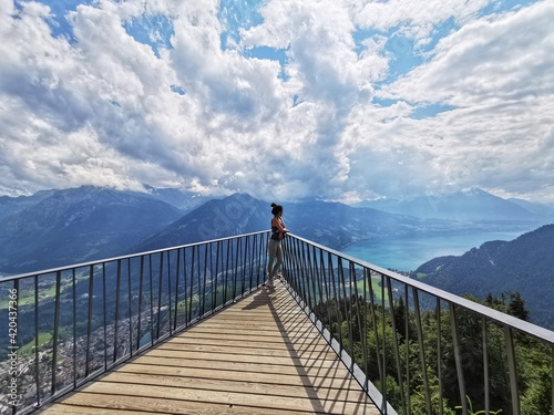 Fotografia, Obraz Top of Interlaken