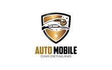 Illustration Vector Graphic Of Auto Detailing Servis Logo Design Template-05