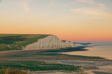 Seven Sisters Cliffs, East Sussex, UK