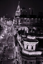 Night Time Over The Bund In Shanghai - Exploring The Early Nineteenth Century Architecture In The City