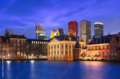 The Hague, Netherlands City Center Skyline