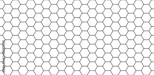 Fotografiet Hexagon seamless pattern