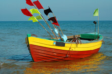 Colorful Fishing Boat.