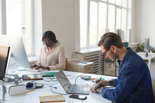 IT Developers Working in Office