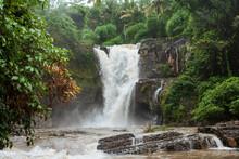 Bali Waterfall Jungle Indonesia Beautiful View