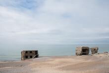 Ruined Building At Liepaja Beach