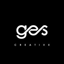 GES Letter Initial Logo Design Template Vector Illustration