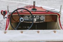 Structure Of Vintage Antique Automobile