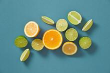 Fresh Vitamin C. Citrus Fruits