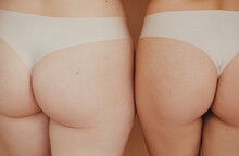 Crop Female's Butts