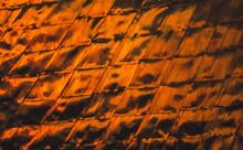 Orange Sunset Reflected