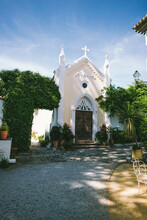 Spanish Little Chapel In Otivar, Granada, Spain