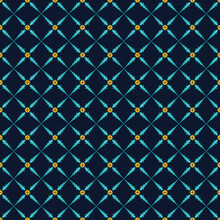 Seamless Pattern With Abstract Geometric Vector