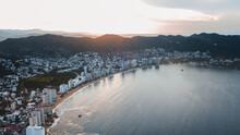 Acapulco Hotel Area Drone Shot