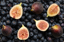 Fresh Figs On The Table
