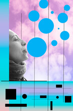 Carefree Bubble Woman