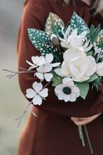Delicate Handmade Paper Flowers Bouquet