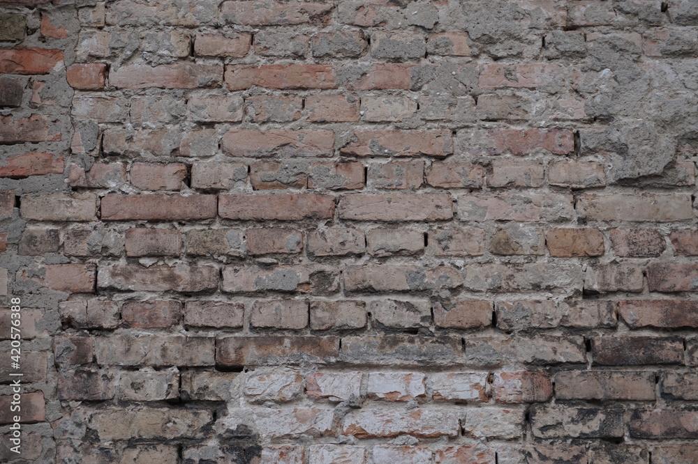 Obraz Old brick wall fototapeta, plakat