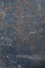 Rusted Blue Surface