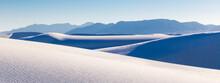 USA, New Mexico, White Sands National Monument. Desert Landscape.