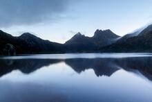 Dove Lake At Cradle Mountain. Tasmania. Australia.