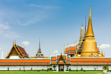 Wat Phra Kaew In Grand Palace Bangkok