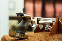 Photo Of A Gun For Rifle Shooting Sport