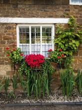 Window Box In Rural England