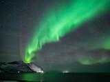 Northern lights on senja islands