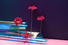 Japanese Style Flower Arrangement Art