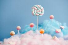 Sweet Pastel Candy World.