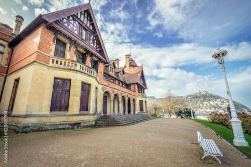Fotografia Exterior view of Miramar Palace in San Sebastian city also known as Donostia, Ba