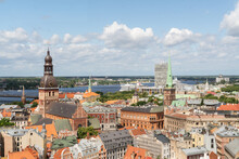 View Of The City Of Riga