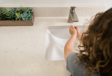 Child Washing Their Hands