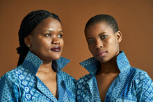 Portrait Of African Sisters