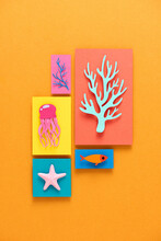 Picture Frames For Wall - Sea Creatures Picture
