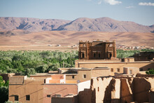 Houses In Traditional Moroccan Village