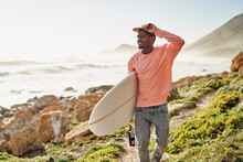 Surfing Lifestyle Of Surfer