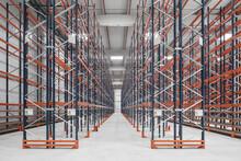 New Empty Industrial Warehouse