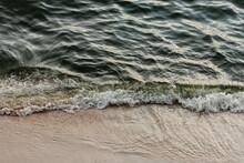 Waves Washing On Shore