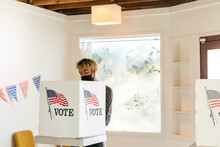 African American Male Voting In American Election