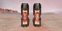 Science Fiction Stasis Pod