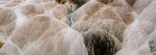 Canary Spring At Mammoth Hot Springs In Yellowstone