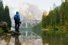 Braies Lake, Dolomites