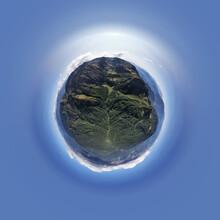 360 Panorama Of A Mountain