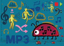 MP3 Ladybug And Musical Friends