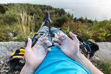 Rock Climbers Equipment POV